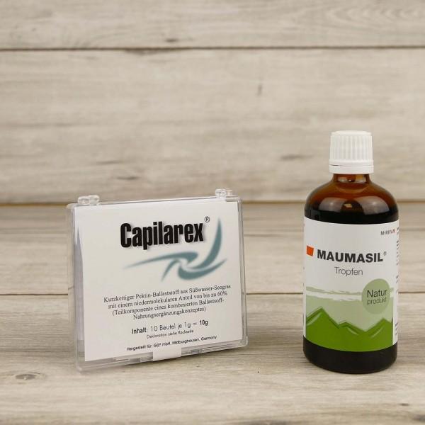 Detox - 10 Tageskur mit Capilarex + Maumasil