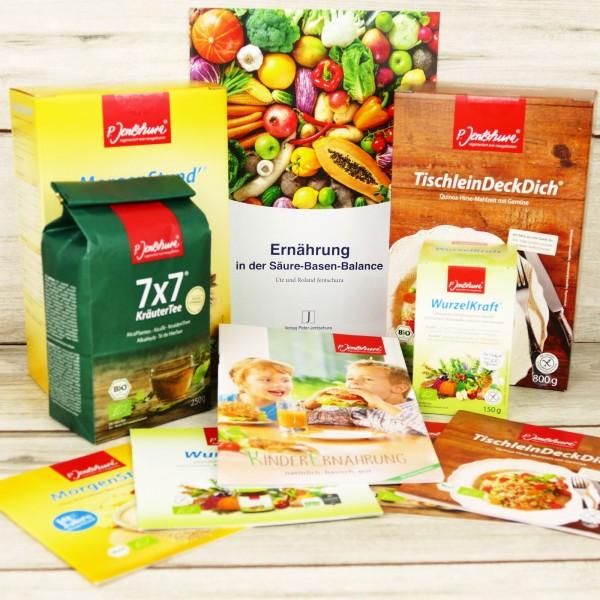 Genießer-Set Basische Ernährung von Jentschura - mit Infos