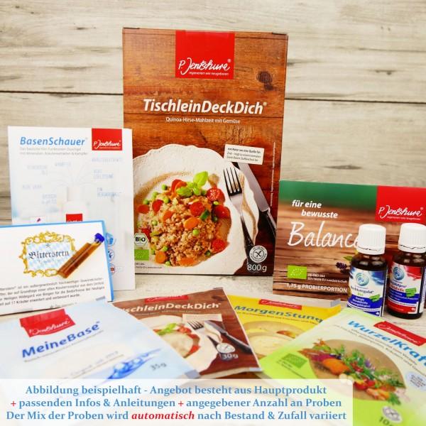 Jentschura TischleinDeckDich 800g + 2 GRATIS Zugaben + Rezepte