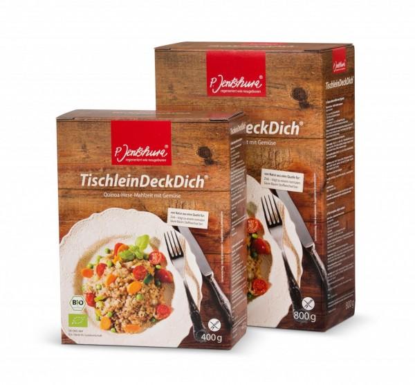 P. Jentschura TischleinDeckDich Basische Mahlzeit Größen