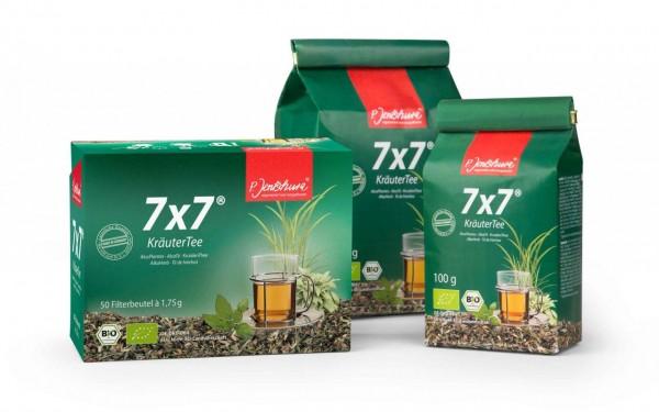 7x7 Kraeutertee - P. Jentschura Sortiment