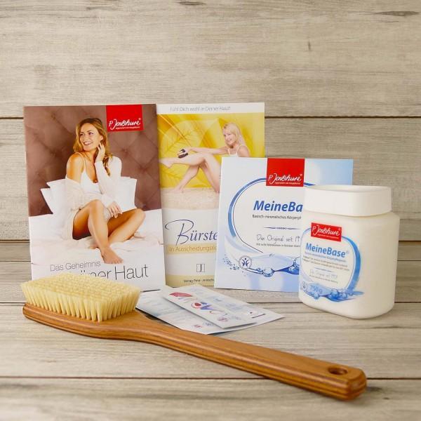 Set: Jentschura Badebürste + MeineBase 750g